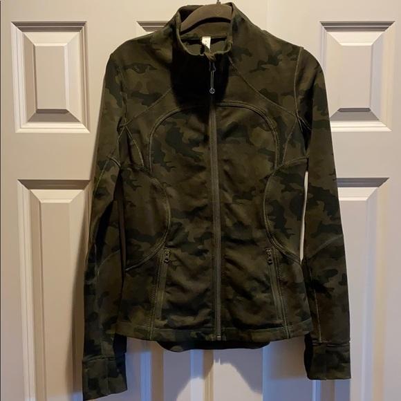 Lululemon Define Jacket Camo Green